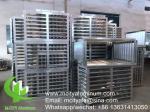 Exterior air conditioner cover aluminum cover for facade decoration