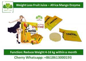 Slimming Body Natural Detox Drinks Mango Fruit Powder Drink Enzyme