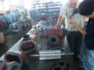China High Efficiency Positive Displacement Three Lobe Roots Blower 380v Long Life on sale