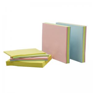China Hot Sale Promoting Customized Printing Shaped Cube Memo Note Pad on sale
