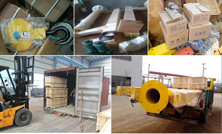 Mingdao Crane BZD Type 500Kg Concentrate Lifting Jib Crane With Electric Hoist