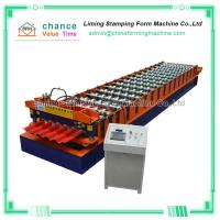 China Aluminum Roof Panel Roll Forming Machine 16 Stations on sale