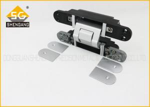 China 180 Degree Invisible Heavy Duty Door Hinges , 3d Adjustable Hinge on sale