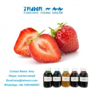 Quality Fruit Concentrated Liquid Flavor/ Strawberry and Mango Flavor used for nicotine E Liquid for sale