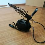 10W Anti Drone Jammer , Drone Jamming Device 1km Long Jamming Distance