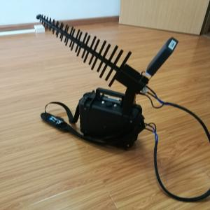 China 10W Anti Drone Jammer , Drone Jamming Device 1km Long Jamming Distance on sale