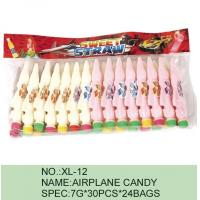 Strawberry Airplane Low Fat Sour Powder Candy Funny HACCP Certification