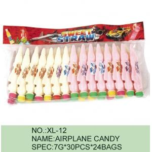 China Strawberry Airplane Low Fat Sour Powder Candy Funny HACCP Certification on sale