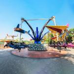 380v 50hz Amusement Park Rides Kite Aircraft Load 32 Riders Diameter 14m