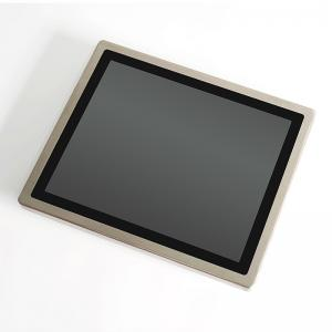 China RAM 4G 64G SSD Capacitive Touch IP65 Stainless Steel 304 Industrial LCD Screen PC on sale