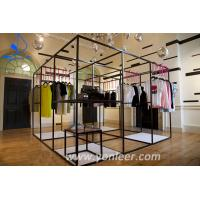 Yeah! So nice design wood table cloth display rack
