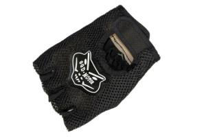 China Half  Finger Tactical  Gloves,Made By Elastic PVC, Leather And Nylon Fiber on sale