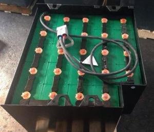 China 440Ah/5hrs Forklift Traction Battery , Lead Acid Forklift Battery 48V Screw Connection on sale