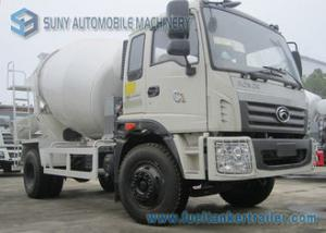 China Foton Rowor C1 Cab 4X2 Concrete Mixer Truck 180 Horsepower Transport Mixer 5 M3 Mixing Capacity on sale