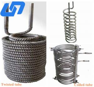 China industrial titanium tube coil for aquarium seamless tube thick wall from titanium tube manufacturers on sale