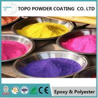 RAL 1002 Sand Yellow Pure Epoxy Powder Coating For Metallic Trash Bin Surface