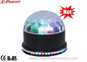 China Sunfolower  Magic Ball Light DJ Led Disco Lights 48pcs* 5mm RGB Plus 3*1W  LED  VS-66 on sale