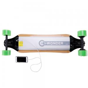 China Remote Control Adult Electric Skateboard 4 Wheel With 360w DC Brushless Motor on sale