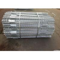 China ISO14001 2015 Hot Dip Galvanized 8ft Steel Studded T Post on sale