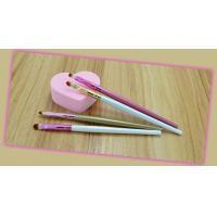 Portable Lip Applicator Brush Wood / Plastic Handle Material 13 CM Total Length