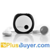 ONN V3 - Mini Clip Sports MP3 Player - 4GB