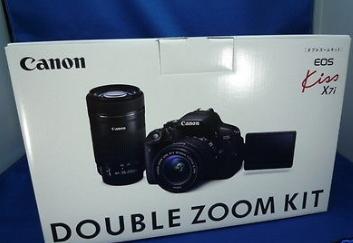 Canon EOS Kiss x7i Rebel T5i/700D Digital Camera 18-55+55
