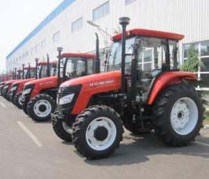China 70HP Wheel Tractor with Cab on sale
