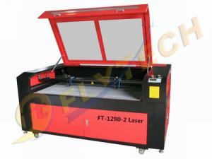 China co2 Double Head CNC Laser Cutting Machine with fast speed low noise on sale