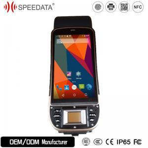China High Definition 5.0 Inch Biometric Fingerprint Scanner Quad Core 1.3GHz on sale
