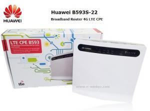 China Huawei B593u-12 B593-22 LTE 4G Wireless gateway router 4G LTE 1800/900/DD800/2100/2600MHz on sale