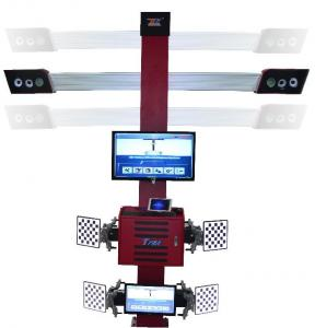 China Truck Tire Two Monitors Tire Alignment Machine , 3D Garage Equipment Wheel Alignment on sale