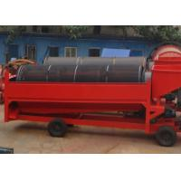 China Gold Mining Small Mobile Trommel Screen Portable Gold Washing Plant ISO9001 Small Trommel Screen on sale