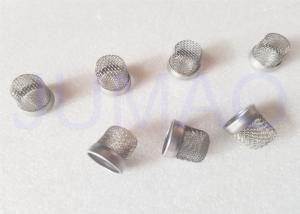 China Stainless Steel Woven Metal Wire Mesh Filter Cap , Micro Filter Mesh 20*40cm on sale