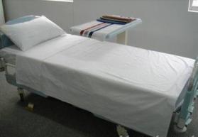 China hospital bedding on sale