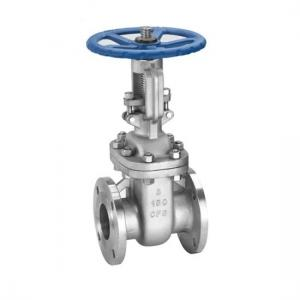 China Manual Operated Flexible Solid Wedge Gate Valve Rising Stem Oil And Gas Medium on sale