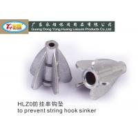 Die casting tower fishing hooks and sinkers to prevent string 20G