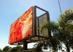 Single Color Outdoor LED Video Display DIP 16 x 32 IP65 Protection
