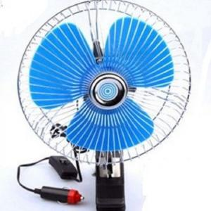 China Plastic Back Guard Car Cooling Fan , Mini Auto Cool Fan With Switch Dc12v on sale