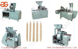 China Cost of wooden pencil production line wooden pencil making mahine sale in factory price on sale