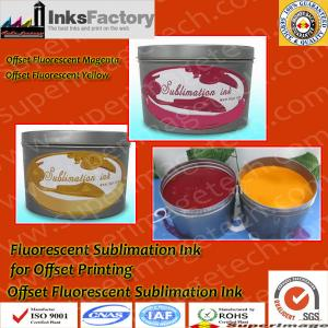 China Fluorescent Sublimation Ink for Offset Printing on sale