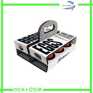 China Egg Corrugated Paper Box , Strong Food cardboard presentation boxes on sale
