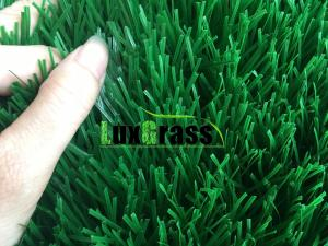 China Outdoor Artificial Grass / Fake Grass Carpet Safe For Children Play Fire Resistant Grass on sale