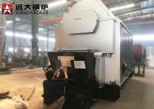 China 8 Ton Fuel Feeding Coal Fired Steam Boiler , Coal Burning Boiler 2 Years Warranty on sale