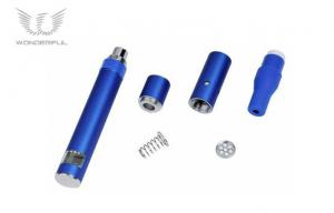China Blue Dry Herb Ago G5 Healthy E Cig with 510 Thread , 1100mAh Wired USB Charger on sale