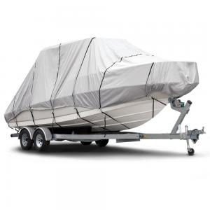 China Full Fit Snowmobile Travel Waterproof Boat Cover Dust Proof High Performance on sale