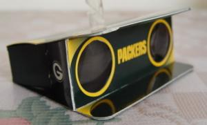 China Paper Toy Models - Foldable Paper Binoculars for Children Playing, Company Advertisement on sale