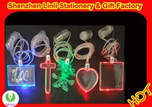 China OEM charming led/flashing necklaces  good promotion gift on sale