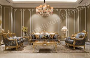 China Italian Site Size Sofa Interior Furniture 7 Seater Sofa Set FF-105N on sale