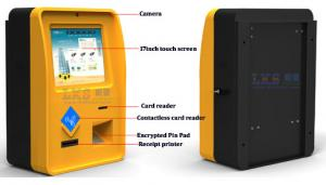 China Portable Information Self Ordering Kiosk Outdoor Touch Screen For Bank / Mall on sale