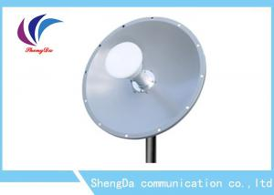 China 4.9-5.8GHz 25dBi Omni Fiberglass Antenna Dual Polarized 2×2 MIMO Dish Antenna on sale
